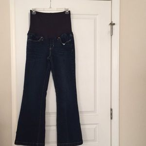 Gap Long and Lean Maternity Jeans